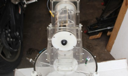 Benthic chamber for undersea research