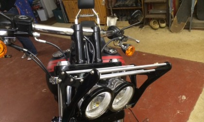 Billet front rack for Harley Davidson