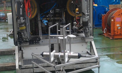 Lander deep sea research unit